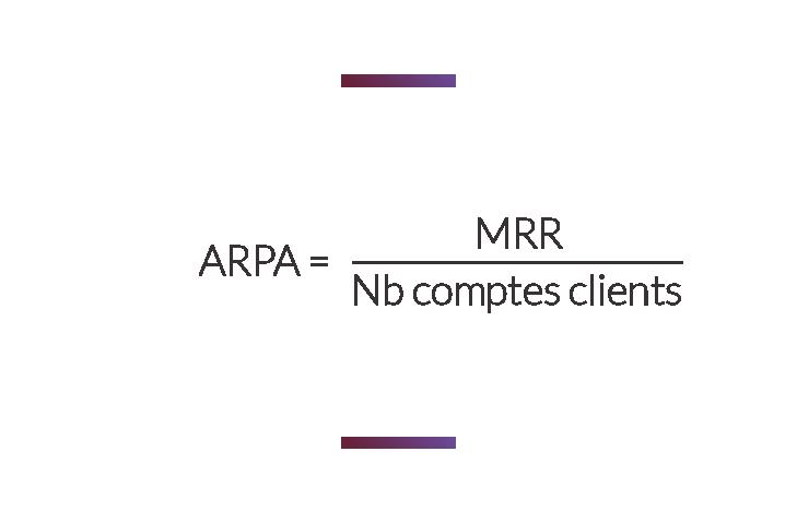 formule calcul ARPA