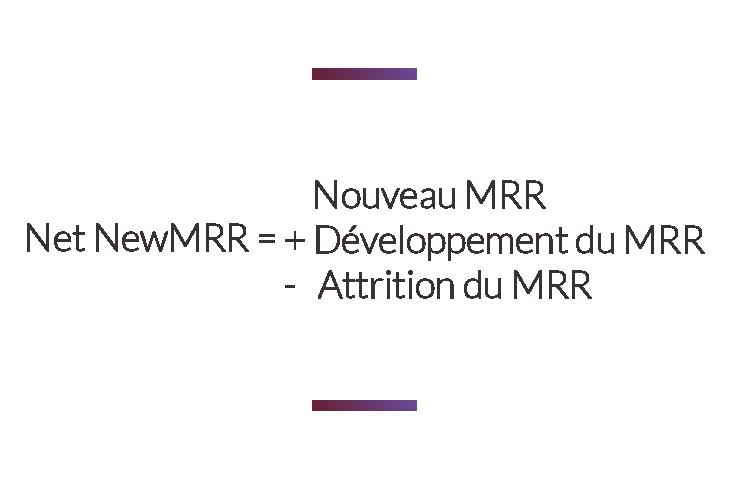 formule calcul net new MRR