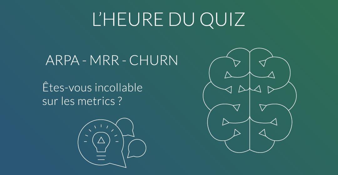 quiz ARPA MRR churn