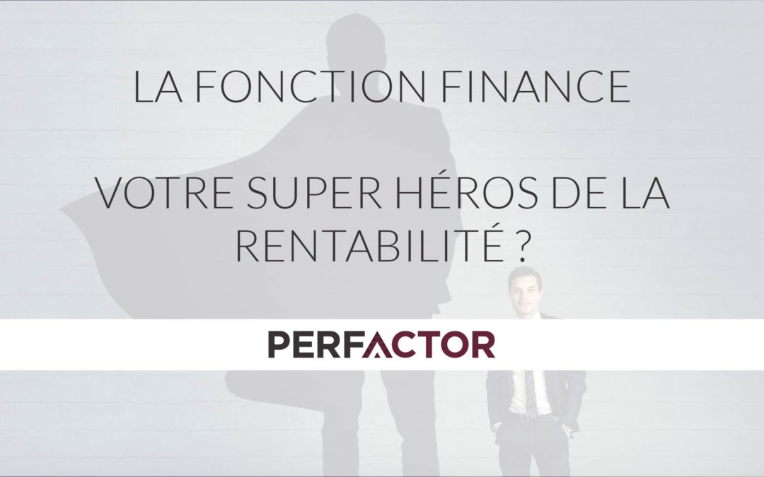 The finance function, superhero of profitability?