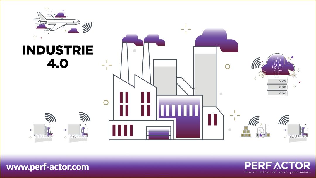 L'industrie 4.0 est un véritable tournant pour les industries pour permettre la transformation digitale de leurs usines connectées
