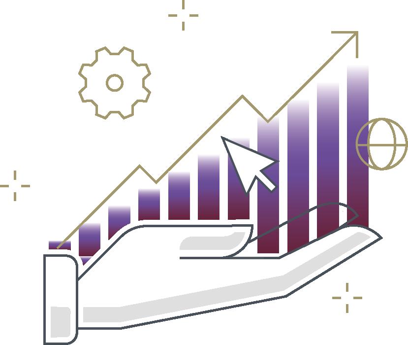 En utilisant des outils de collecte, de traitement et d'analyse de données, vous pourrez prendre des décisions rapides et claires et distancer vos concurrents.